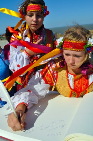 Юные казачки Атамани