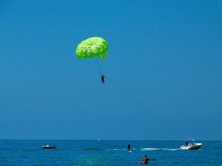 Отдых с парашютом