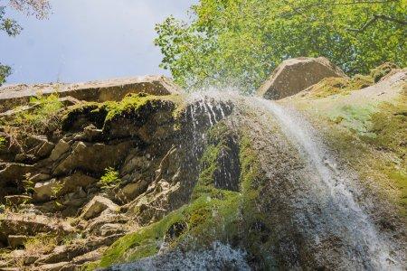 Водопады на реке Пшада