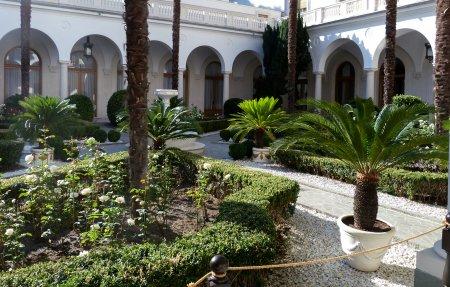 Сад Ливадийского дворца