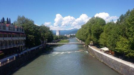 Река в Сочи